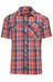 Berghaus Eco SS Shirt Men Navy Big Check